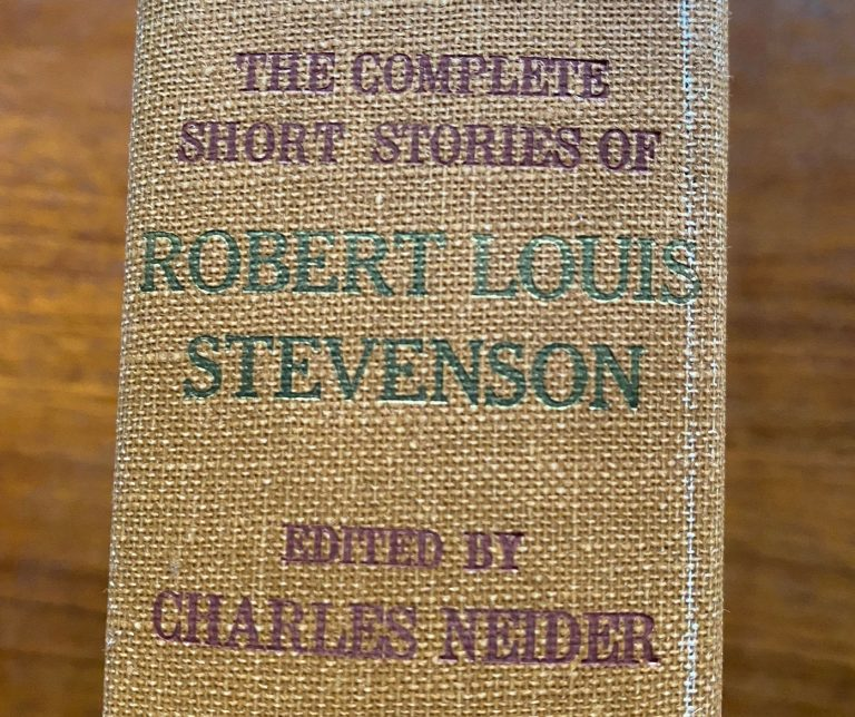 1000 books: Robert Louis Stevenson.