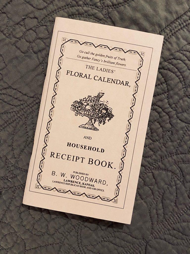 1000 books: The Ladies' Floral Calendar.