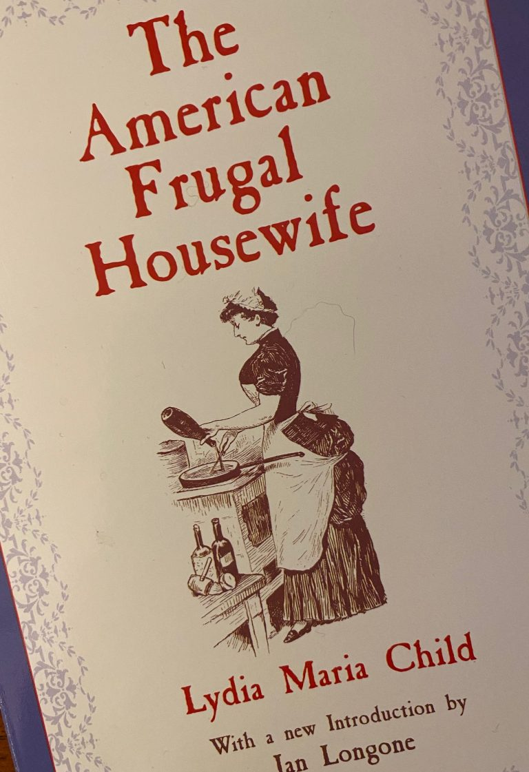 1000 books: The American Frugal Housewife.