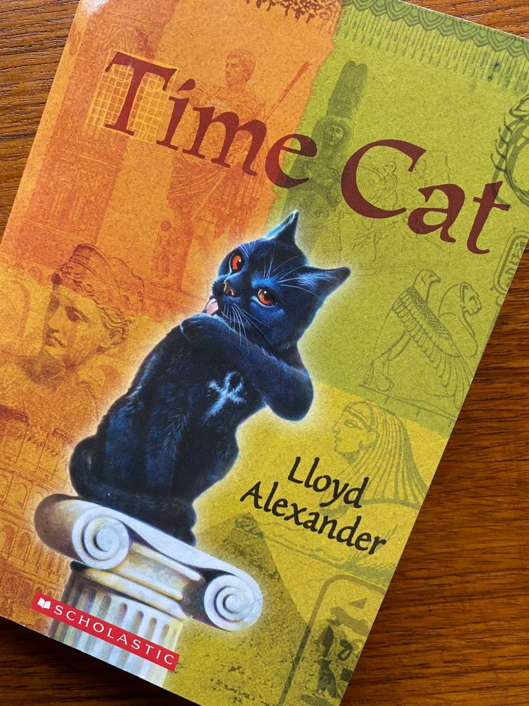 1000 books: Time Cat.