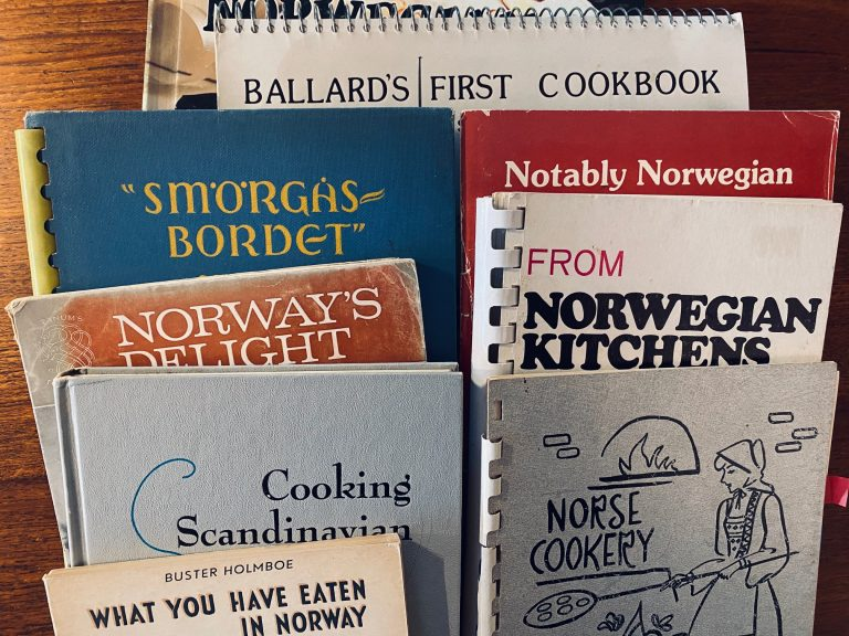 1000 books: all those Scandinavian cookbooks!