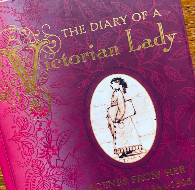 1000 books: Diary of a Victorian Lady (first of many).
