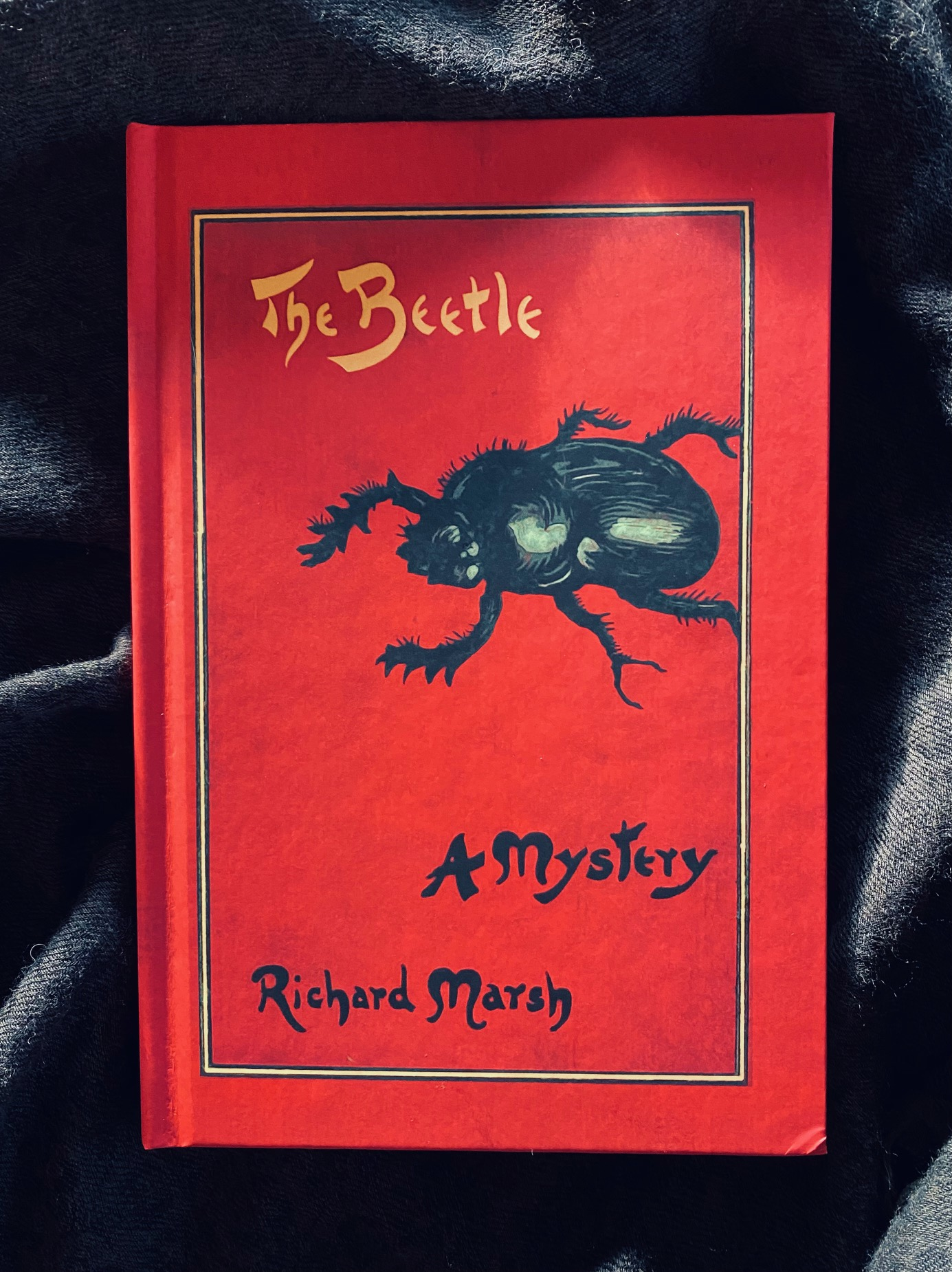 Brain comes back online, also, 1000 books: The Beetle.